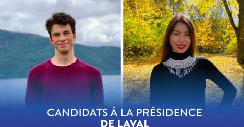 Élection à la présidence régionale de Laval