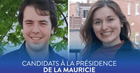 Élection à la présidence régionale de la Mauricie